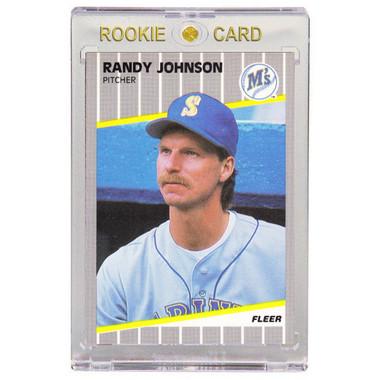 Randy Johnson Seattle Mariners 1989 Fleer Update # U59 Rookie Card