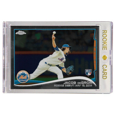Jacob DeGrom New York Mets 2014 Topps Chrome Update # MB54 Rookie Card