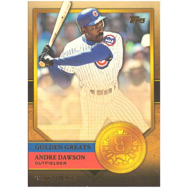 Andre Dawson 2012 Topps Golden Greats Card # 76