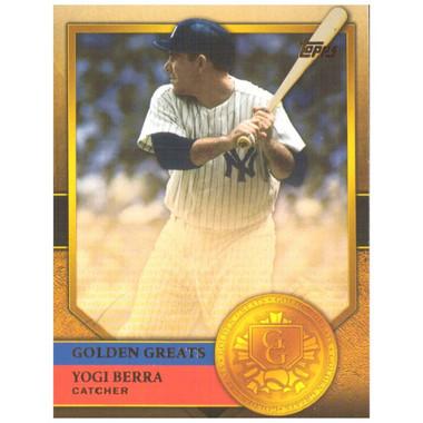 Yogi Berra 2012 Topps Golden Greats Card # 100