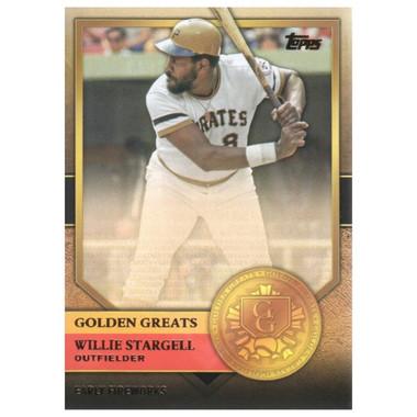Willie Stargell 2012 Topps Golden Greats Card # 99
