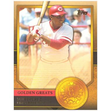 Tony Perez 2012 Topps Golden Greats Card # 96