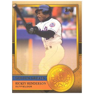Rickey Henderson 2012 Topps Golden Greats Card # 93