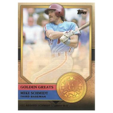 Mike Schmidt 2012 Topps Golden Greats Card # 90