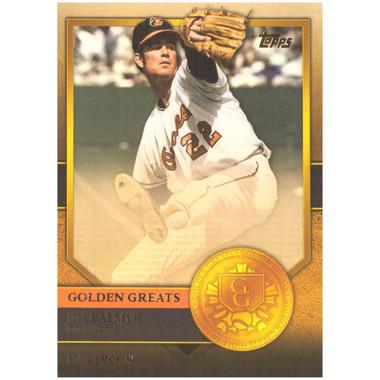 Jim Palmer 2012 Topps Golden Greats Card # 84