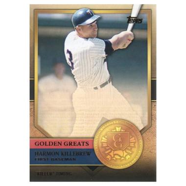 Harmon Killebrew 2012 Topps Golden Greats Card # 83