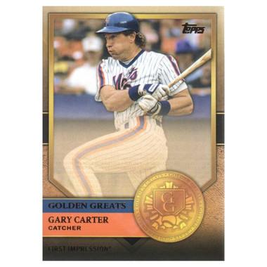 Gary Carter 2012 Topps Golden Greats Card # 82