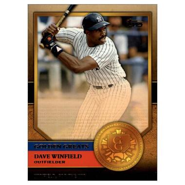 Dave Winfield 2012 Topps Golden Greats Card # 79