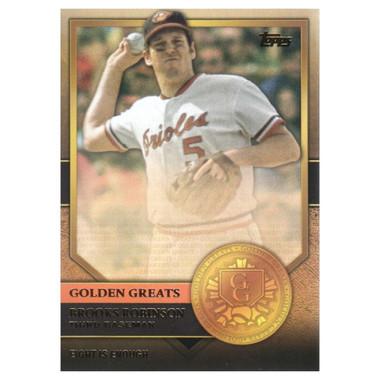 Brooks Robinson 2012 Topps Golden Greats Card # 78