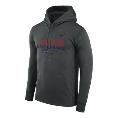 Men's Nike Baseball Hall of Fame Dark Grey Therma-FIT PO Hoody