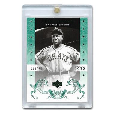 Buck Leonard 2005 Upper Deck Hall of Fame Green # 10 Ltd Ed of 200