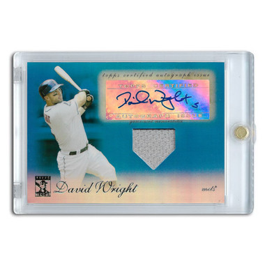 David Wright Autographed Card 2009 Topps Tribute Ltd Ed of 75