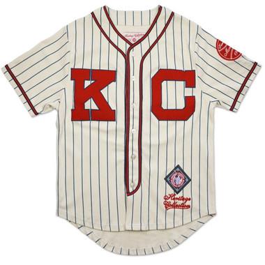 Men's Kansas City Monarchs Negro Leagues Pinstripe Heritage Jersey