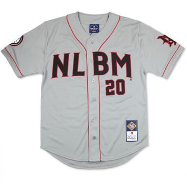 Men's Negro Leagues Baseball Museum (NLBM) Commemorative Grey Jersey