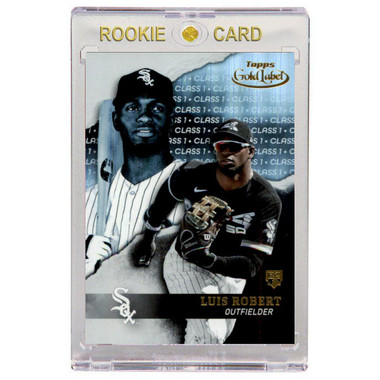 Luis Robert Chicago White Sox 2020 Topps Gold Label # 79 Rookie Card