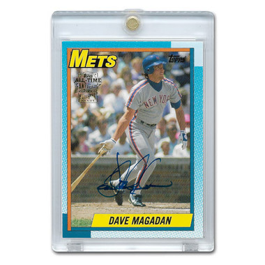 Dave Magadan Autographed Card 2005 Topps Archives Franchise Favorites # FFA-DMA