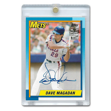 Dave Magadan Autographed Card 2017 Topps Archives Franchise Favorites # FFA-DMA