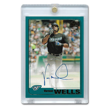 Vernon Wells Autographed Card 2019 Topps Archives Franchise Favorites