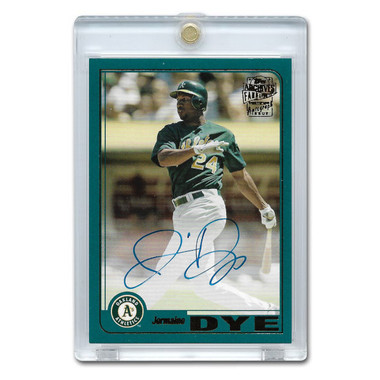 Jermaine Dye Autographed Card 2019 Topps Archives Franchise Favorites
