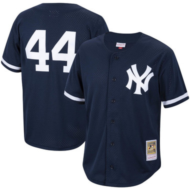 Men's Mitchell & Ness Reggie Jackson 1997 New York Yankees Batting Practice Cooperstown Jersey
