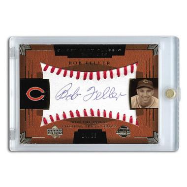 Bob Feller Autographed Card 2004 Upper Deck Sweet Spot Ltd Ed of 50