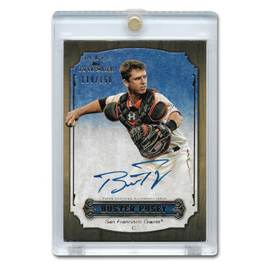 Buster Posey Autographed Card 2012 Topps 5 Star Ltd Ed of 150