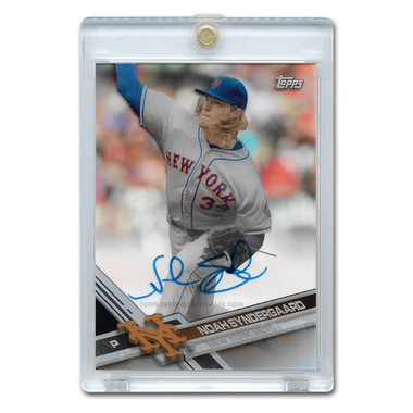 Noah Syndergaard Autographed Card 2017 Topps Tek Clearly Authentic # CAAU-NS