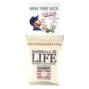 Baseball Hall of Fame Reusable Seed Sack