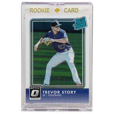 Trevor Story Colorado Rockies 2016 Donruss Optic # 53 Rookie Card