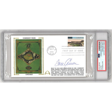 Tom Seaver Autographed First Day Cover - 2001 Comiskey Park (PSA-33)