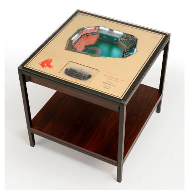 Boston Red Sox 25-Layer StadiumViews Lighted End Table - Fenway Park