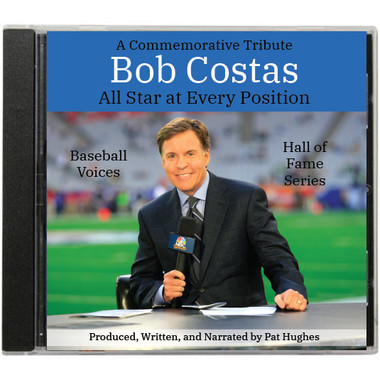 Baseball Voices: Bob Costas, All Star At Every Position Audio 2 CD Set