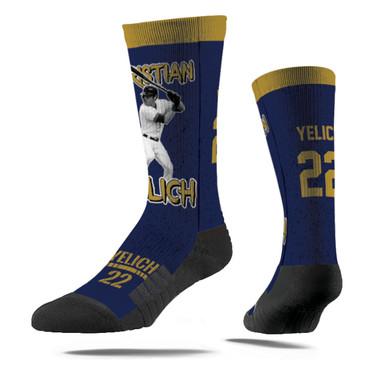 Strideline Christian Yelich Full Image Premium Crew Socks