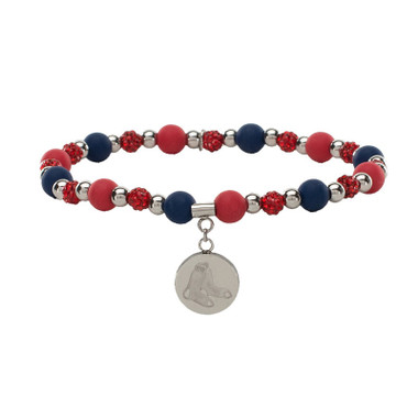Rustic Cuff Boston Red Sox Mini Kaleidoscope Bracelet