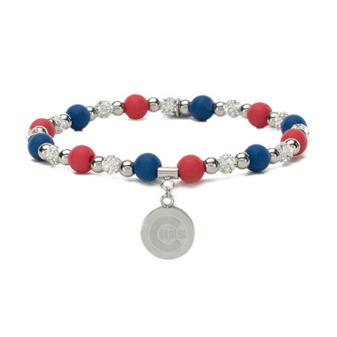 Rustic Cuff Chicago Cubs Mini Kaleidoscope Bracelet