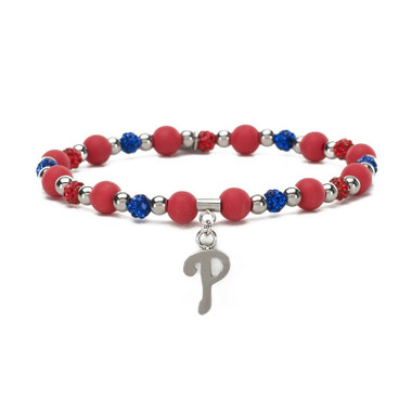 Rustic Cuff Philadelphia Phillies Mini Kaleidoscope Bracelet