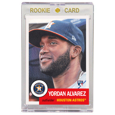 Yordan Alvarez 2020 Topps Living Set # 289 Rookie Card