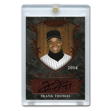 Frank Thomas Autographed Card 2011 Leaf Legends of Sports # EA-FT1