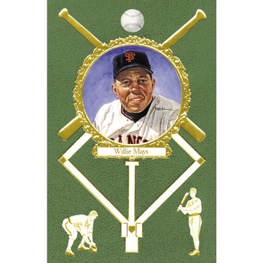Willie Mays Perez-Steele Masterworks Limited Edition Postcard # 13