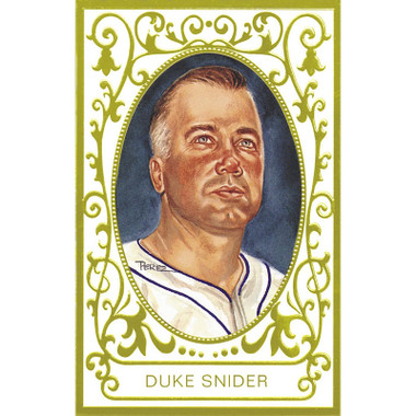 Duke Snider Perez-Steele Masterworks Limited Edition Postcard # 16