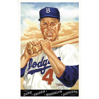 Duke Snider Perez-Steele Masterworks Limited Edition Postcard # 17