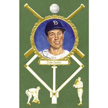 Duke Snider Perez-Steele Masterworks Limited Edition Postcard # 18