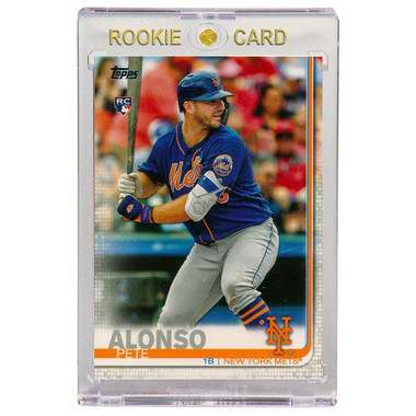 Pete Alonso New York Mets 2019 Topps # 475 Rookie Card