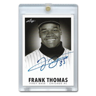 Frank Thomas Autographed Card 2013 Leaf Industry Summit # FT1