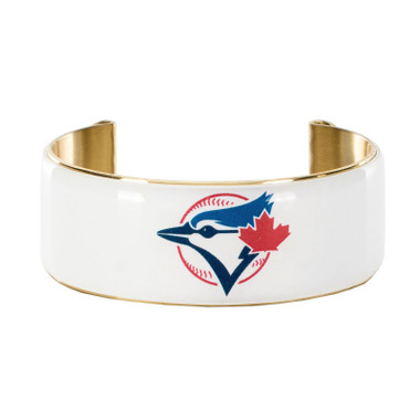 Rustic Cuff Toronto Blue Jays Art Deco Women's Large Cuff