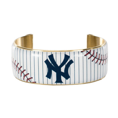 Rustic Cuff New York Yankees Art Deco Women's Large Cuff