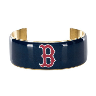Rustic Cuff Boston Red Sox Art Deco Women's Large Cuff