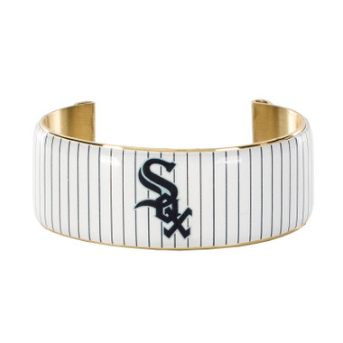 Rustic Cuff Chicago White Sox Art Deco Women's Large Cuff