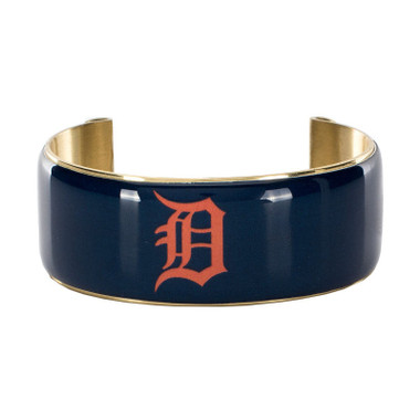 Rustic Cuff Detroit Tigers Art Deco Women's Large Cuff