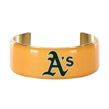 Rustic Cuff Oakland Athletics Art Deco Women's Large Cuff